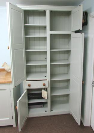 Freestanding Kitchen Larder Cupboard With Broom Cupboard Murdoch Troon