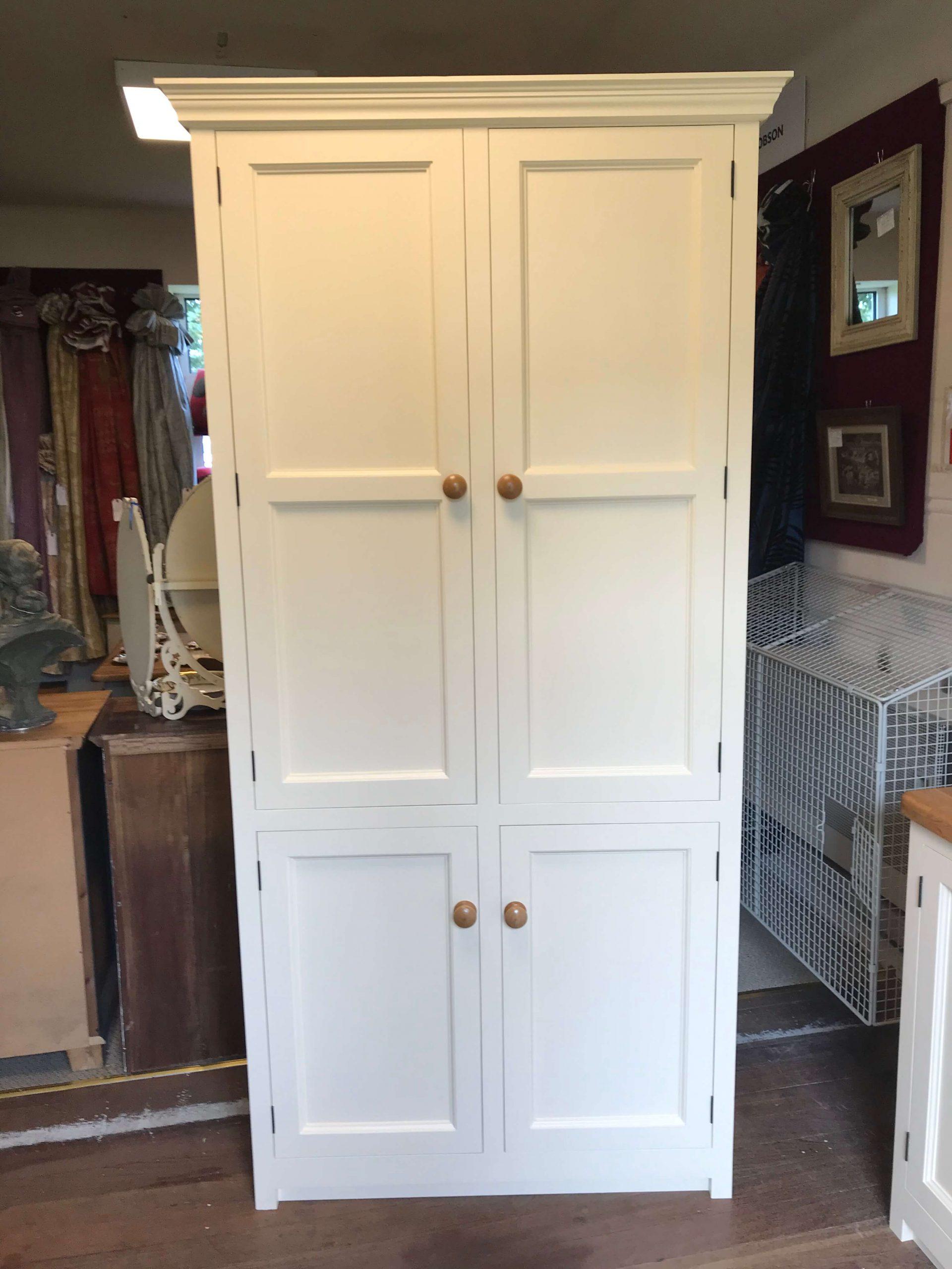 Freestanding Four Door Kitchen Larder Pantry Cupboard Murdoch Troon