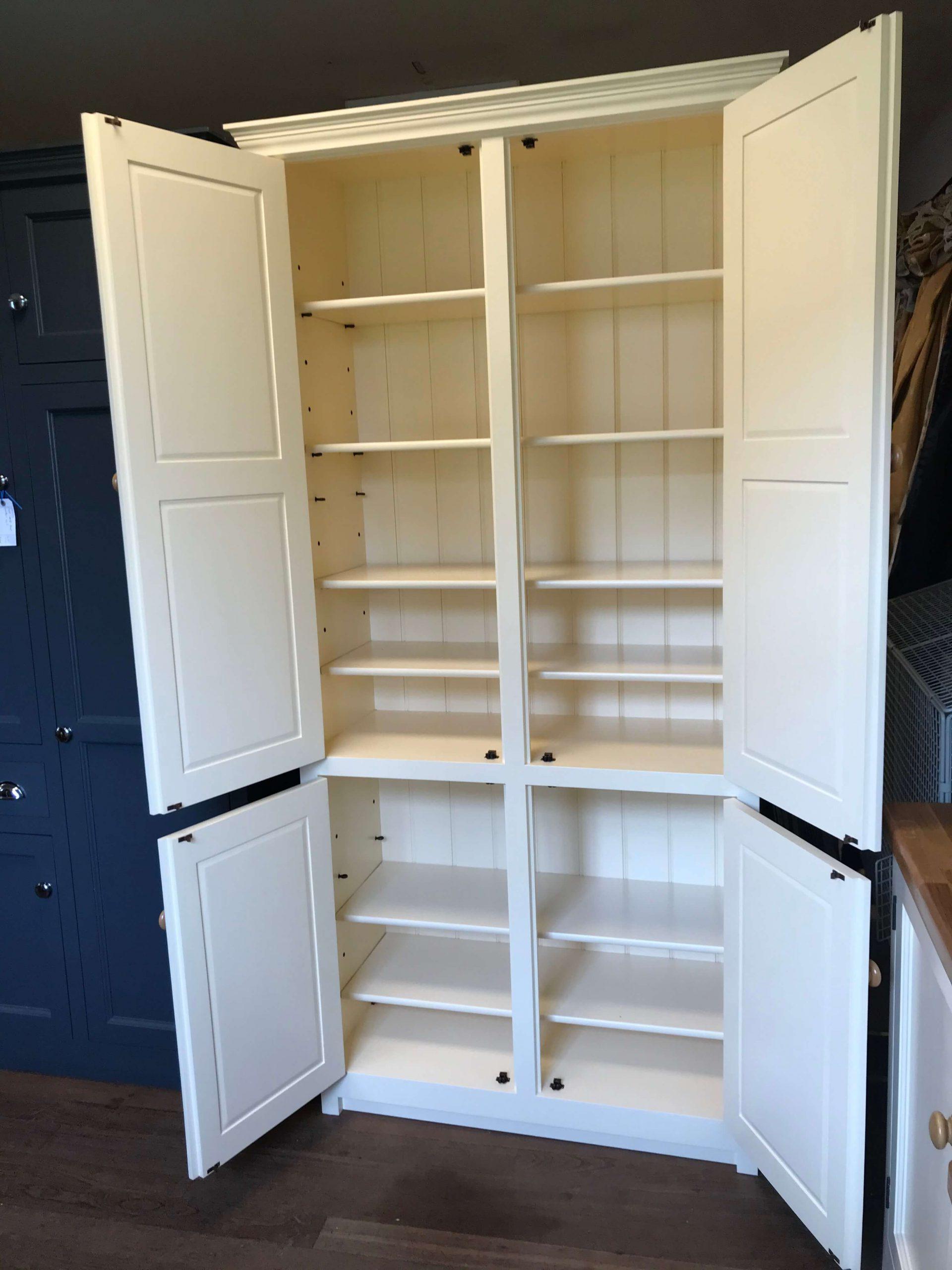 Solid Pine Wood Kitchen Base unit 1000mm wide with 1 door /& Return